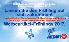 Jansen Hausmesse Werbeartikel
